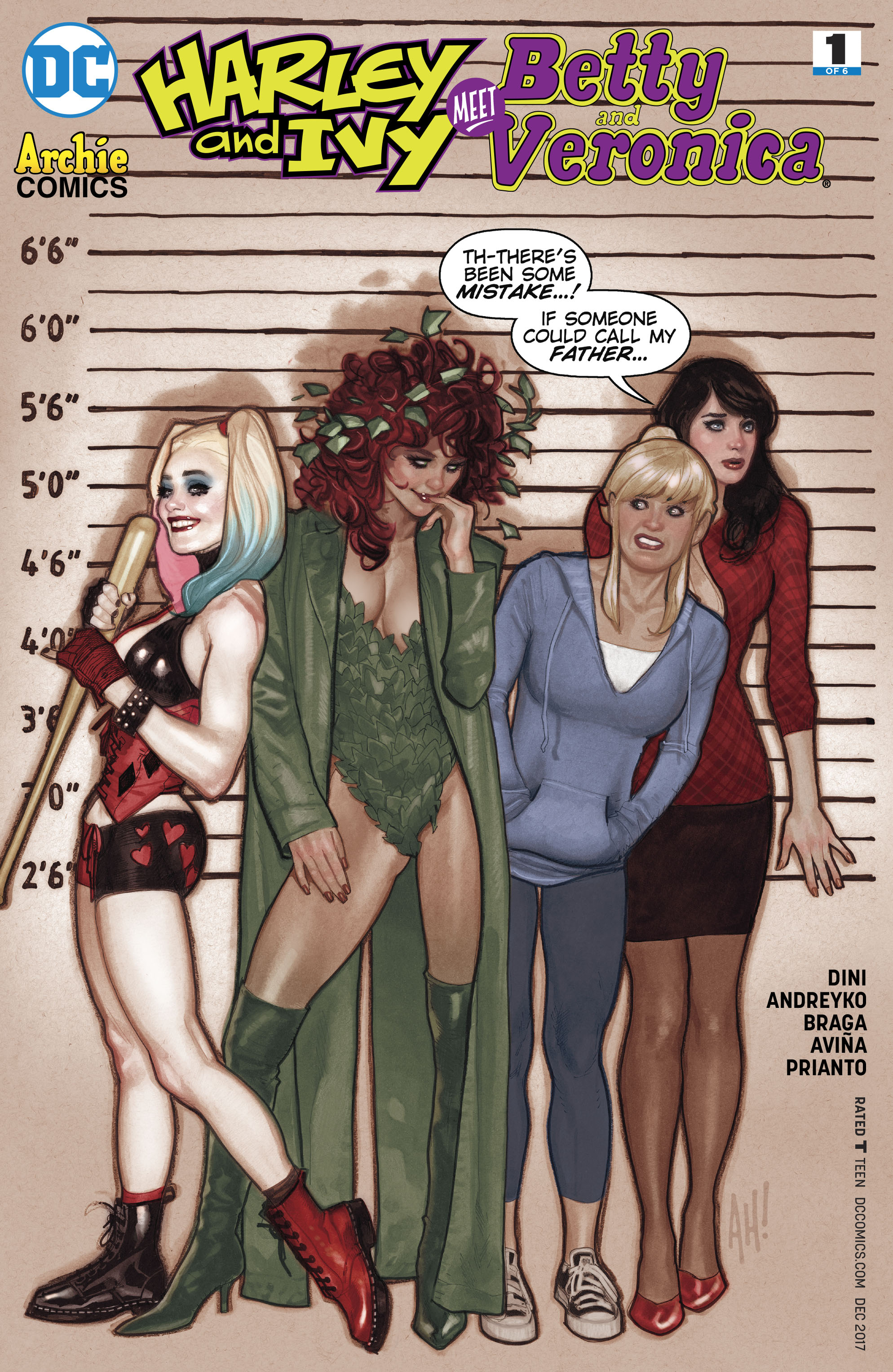 HARLEY & IVY MEET BETTY & VERONICA #1