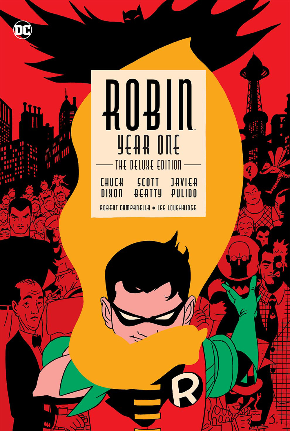 ROBIN YEAR ONE DELUXE EDITION HC