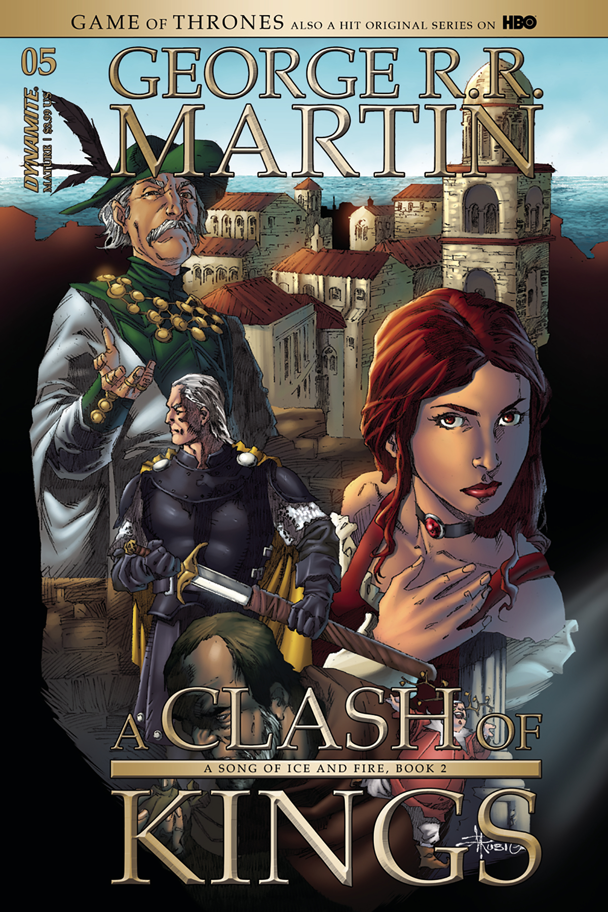 GAME OF THRONES CLASH OF KINGS #5 CVR B RUBI (MR)