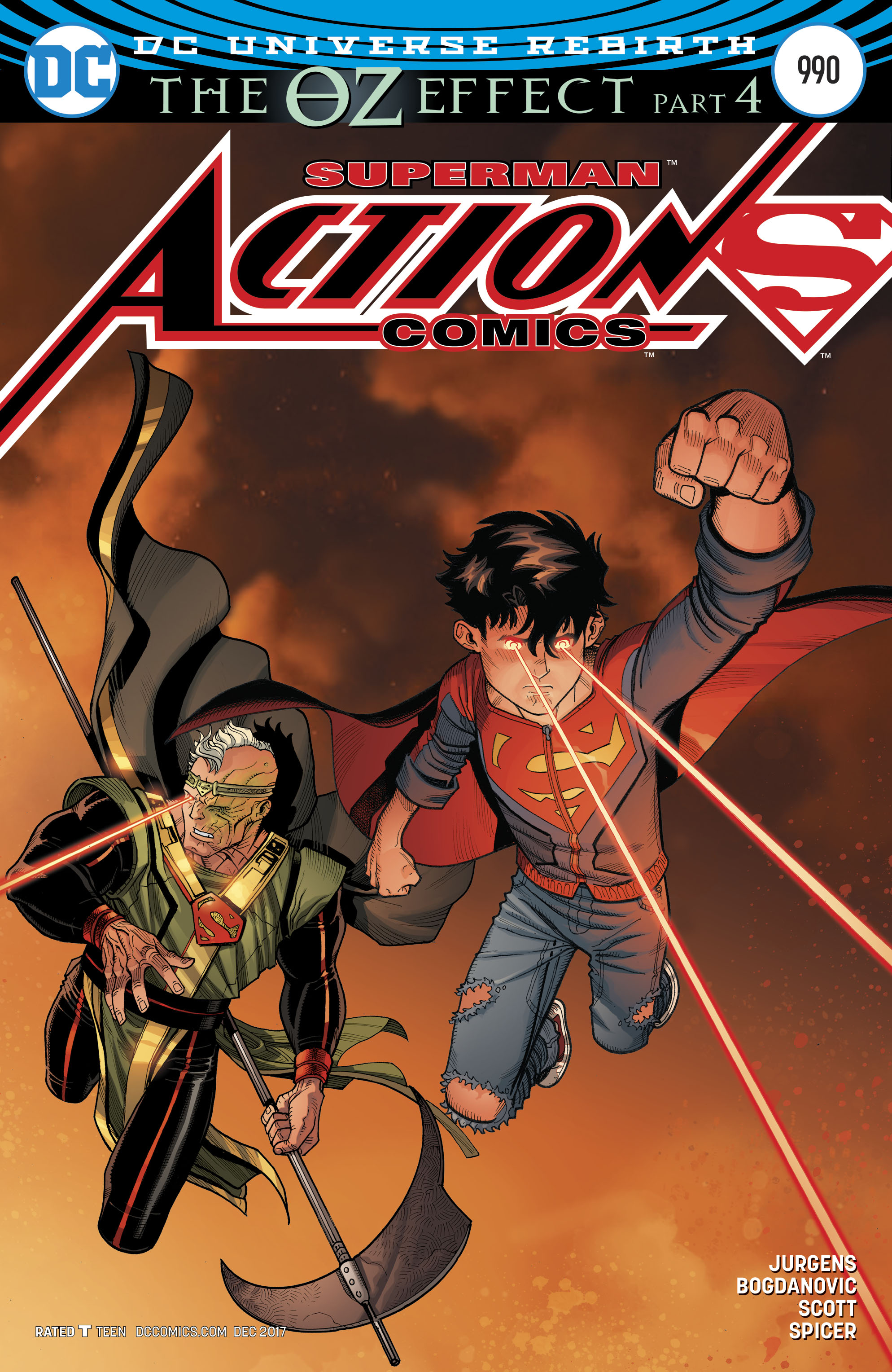 ACTION COMICS #990 (OZ EFFECT)