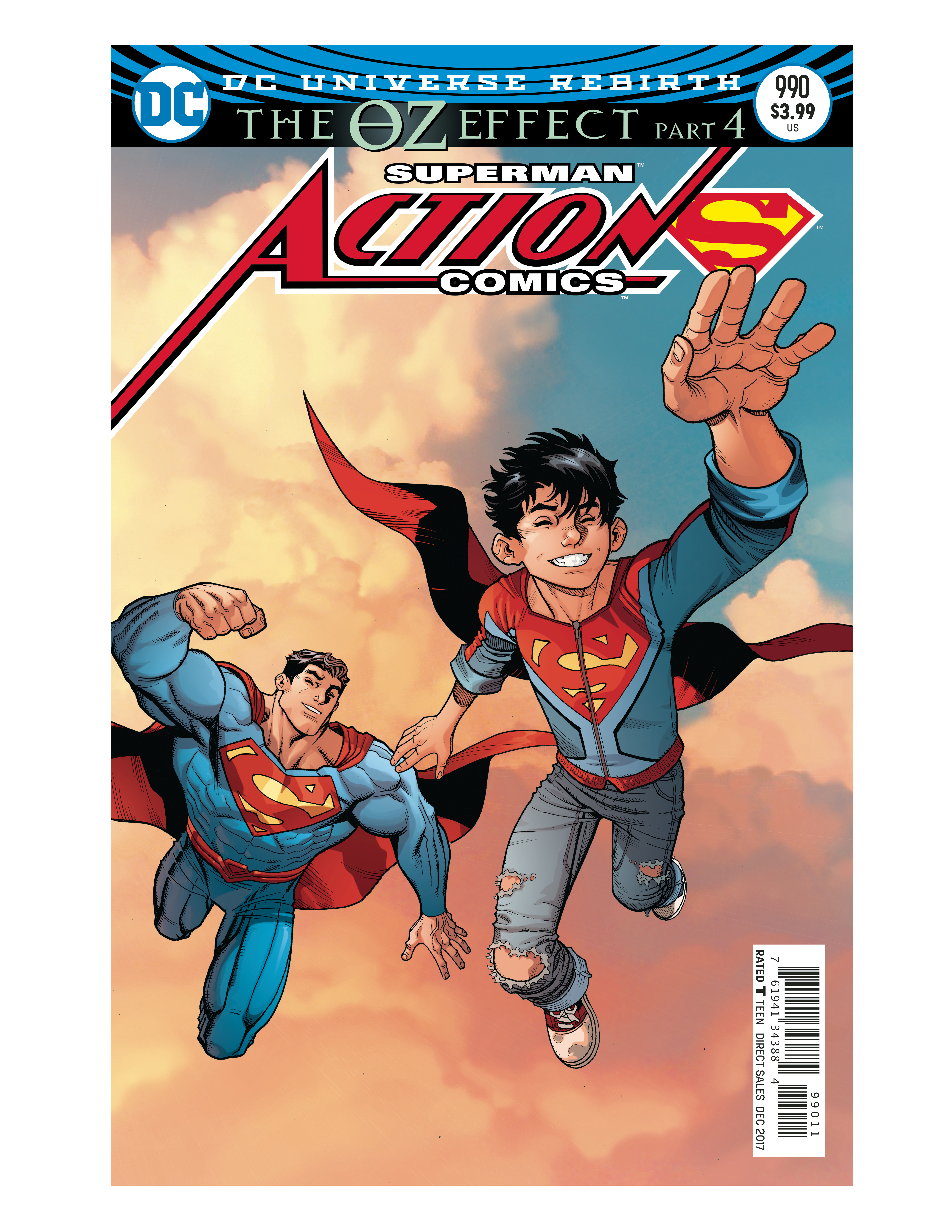 ACTION COMICS #990 LENTICULAR ED (OZ EFFECT)