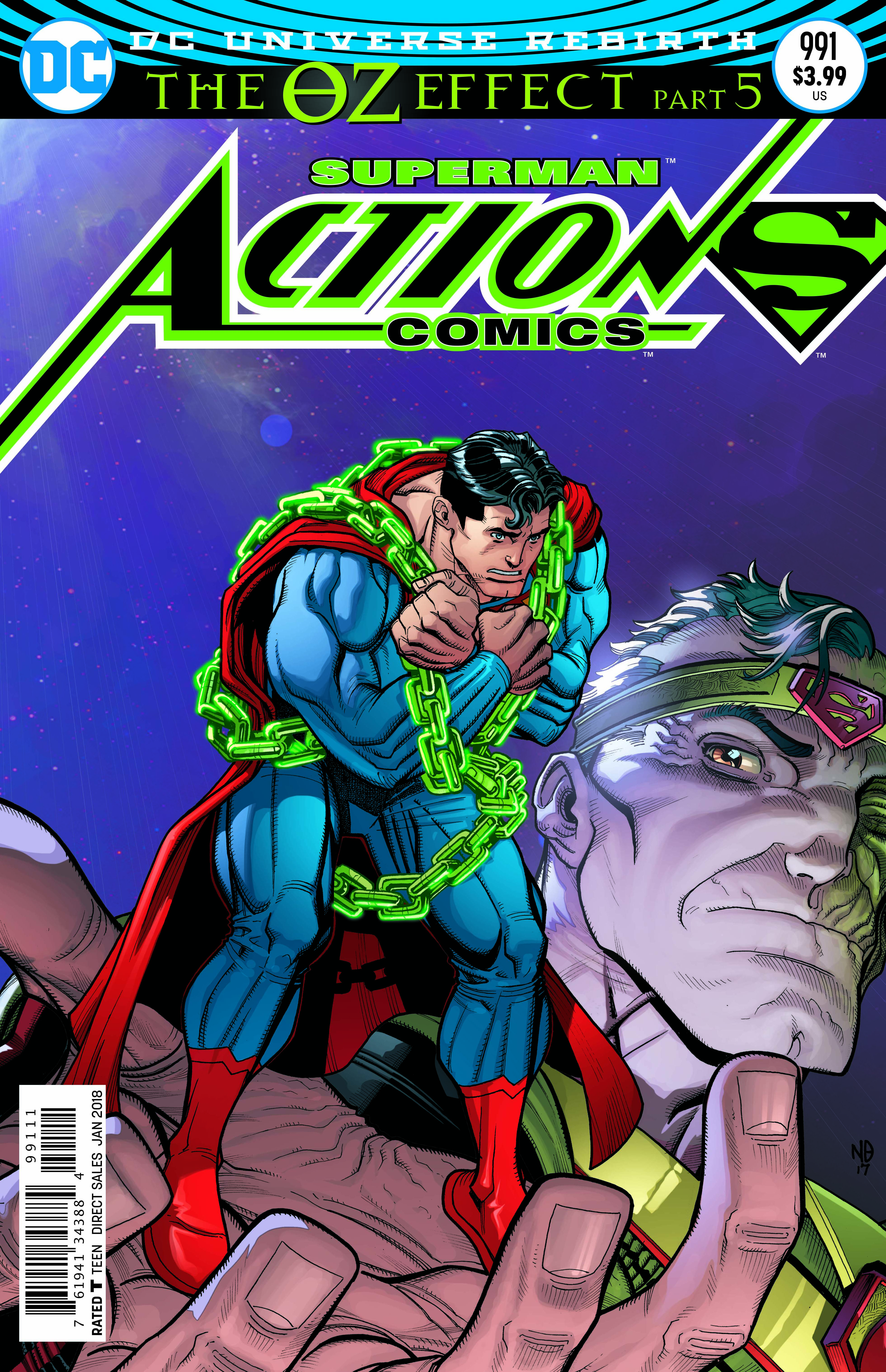 ACTION COMICS #991 LENTICULAR ED
