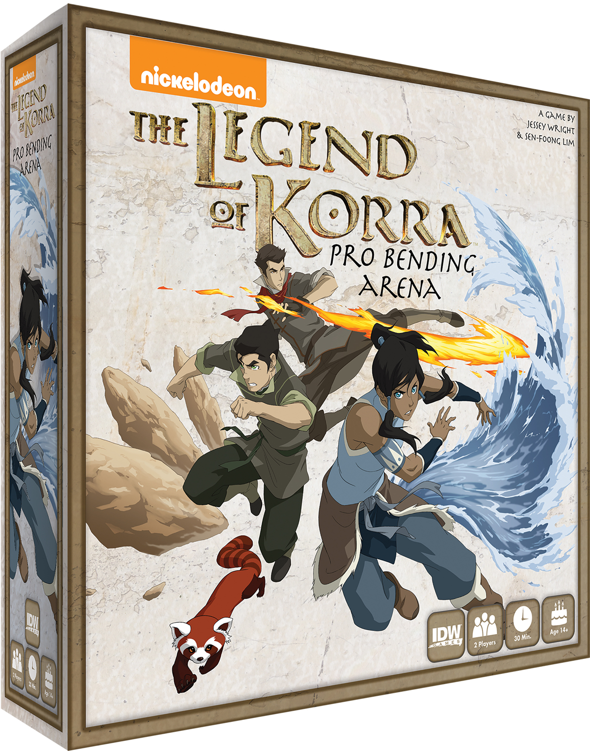 LEGEND OF KORRA PRO BENDING ARENA GAME