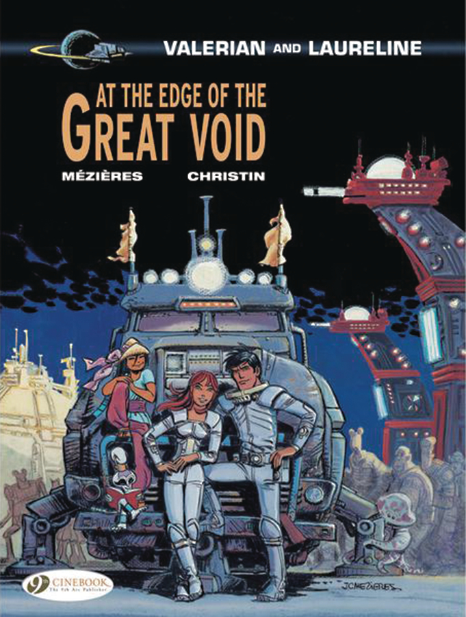 VALERIAN & LAURELINE VOL 19 AT EDGE OF GREAT VOID