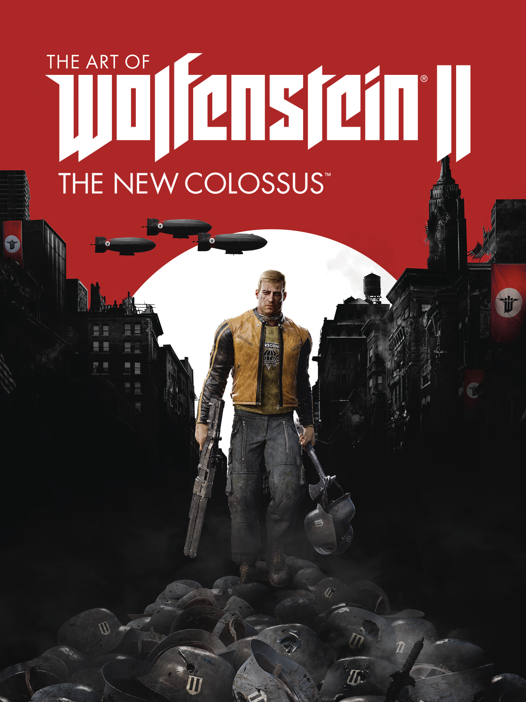 ART OF WOLFENSTEIN II NEW COLOSSUS HC (MAY178726)