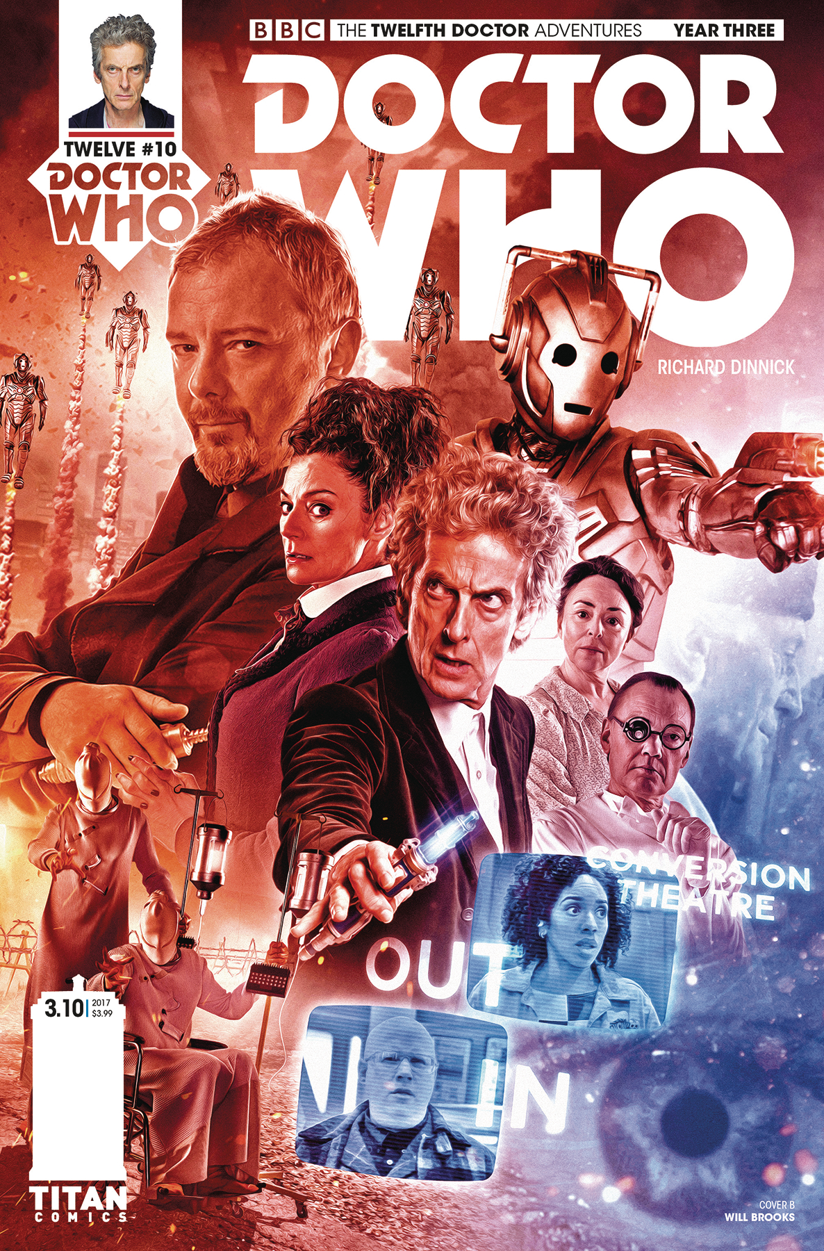 DOCTOR WHO 12TH YEAR THREE #10 CVR B PHOTO