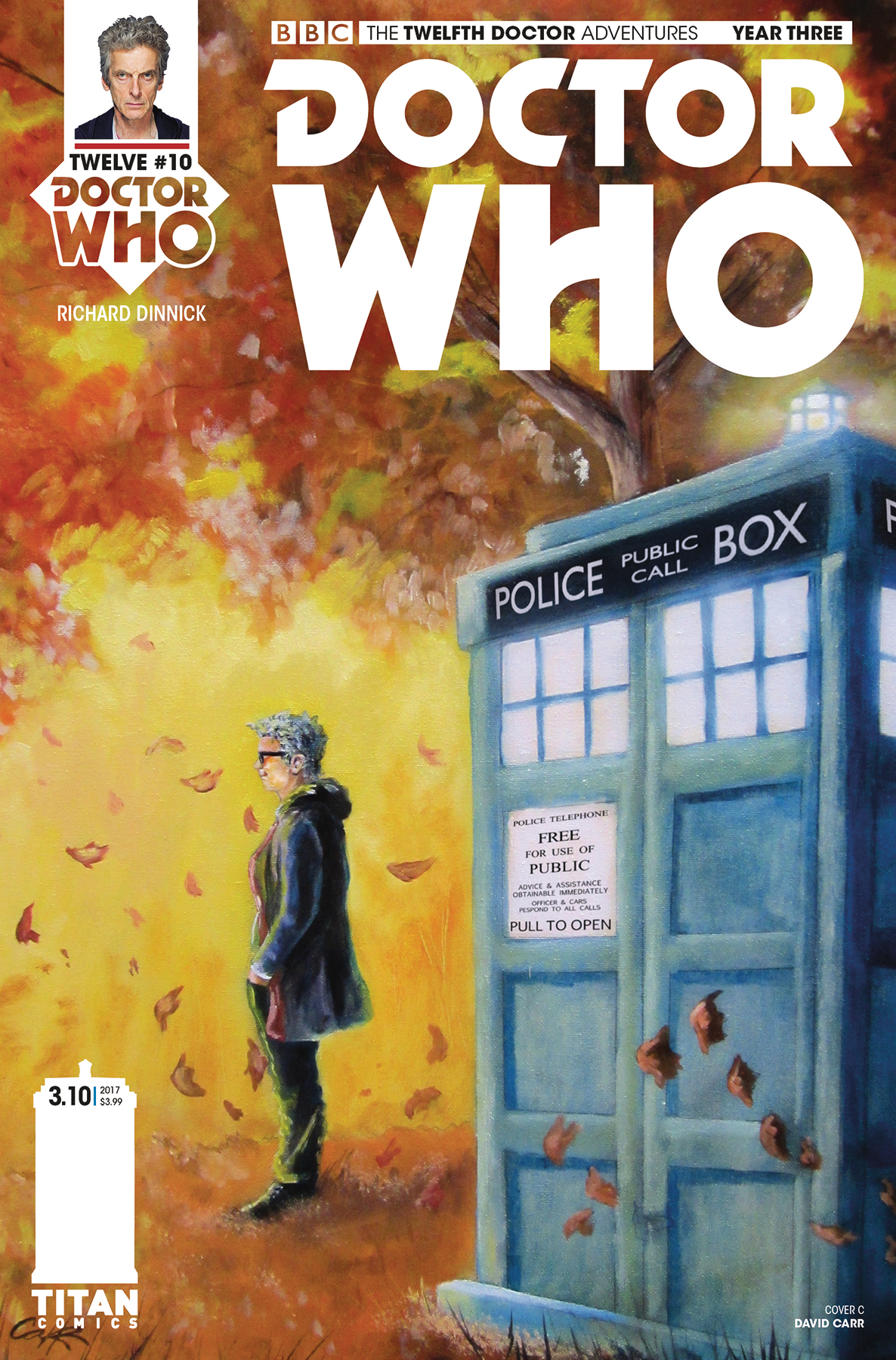 DOCTOR WHO 12TH YEAR THREE #10 CVR C CARR