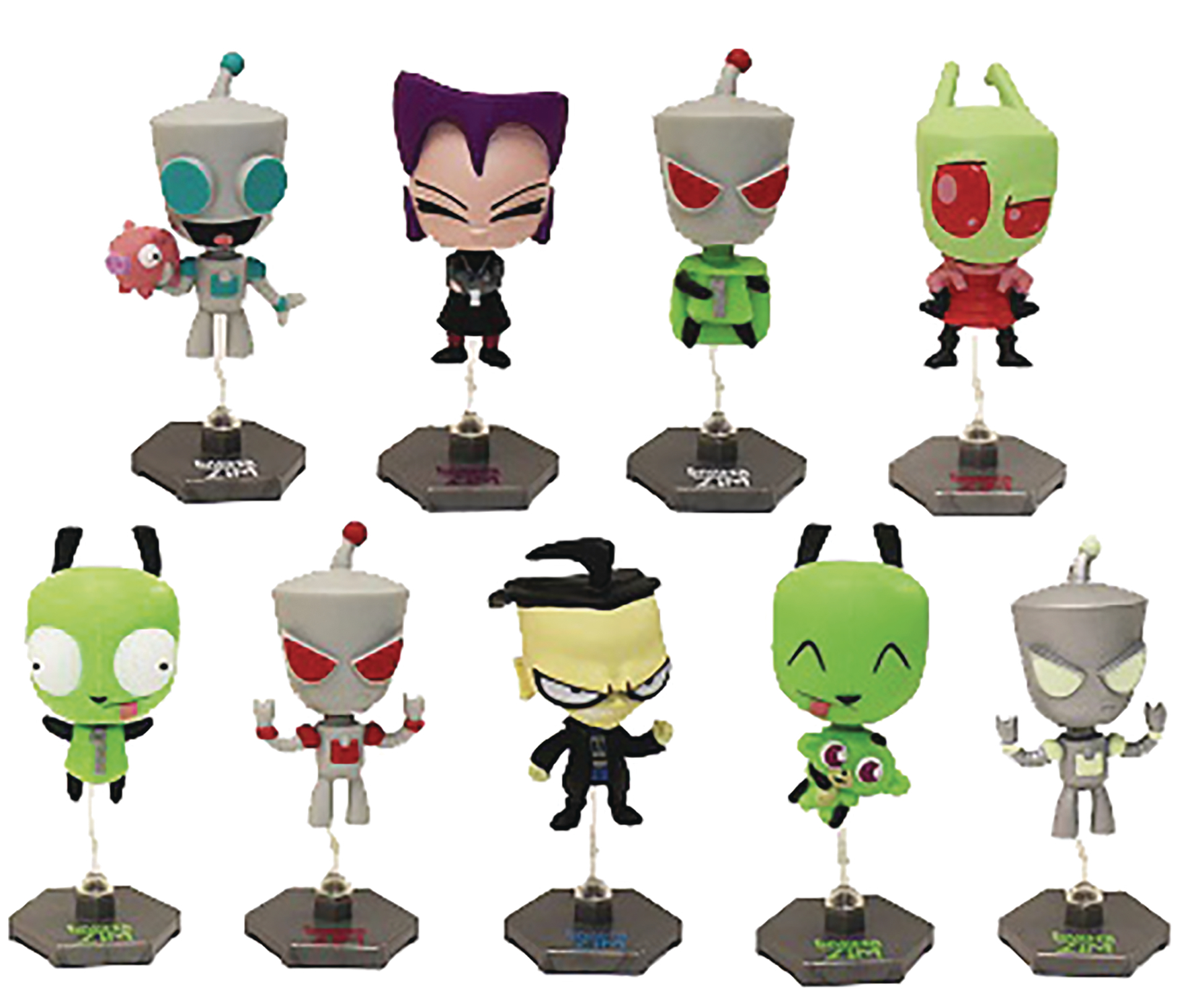 INVADER ZIM BUILDABLE FIGURE 24PC BMB DS