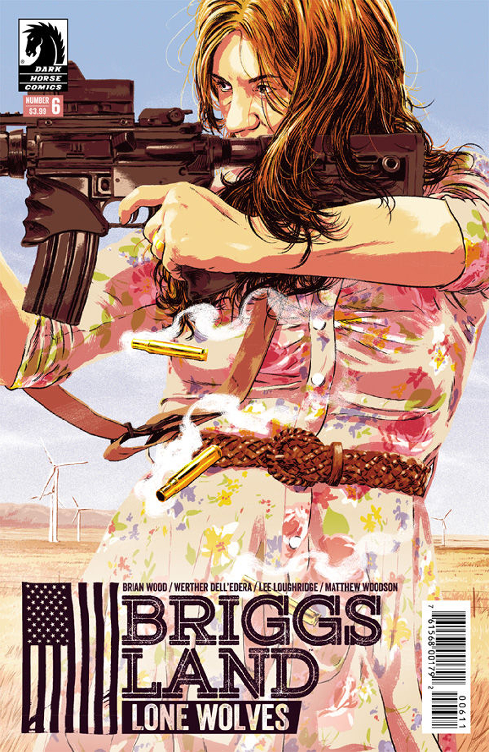 BRIGGS LAND LONE WOLVES #6 (OF 6)