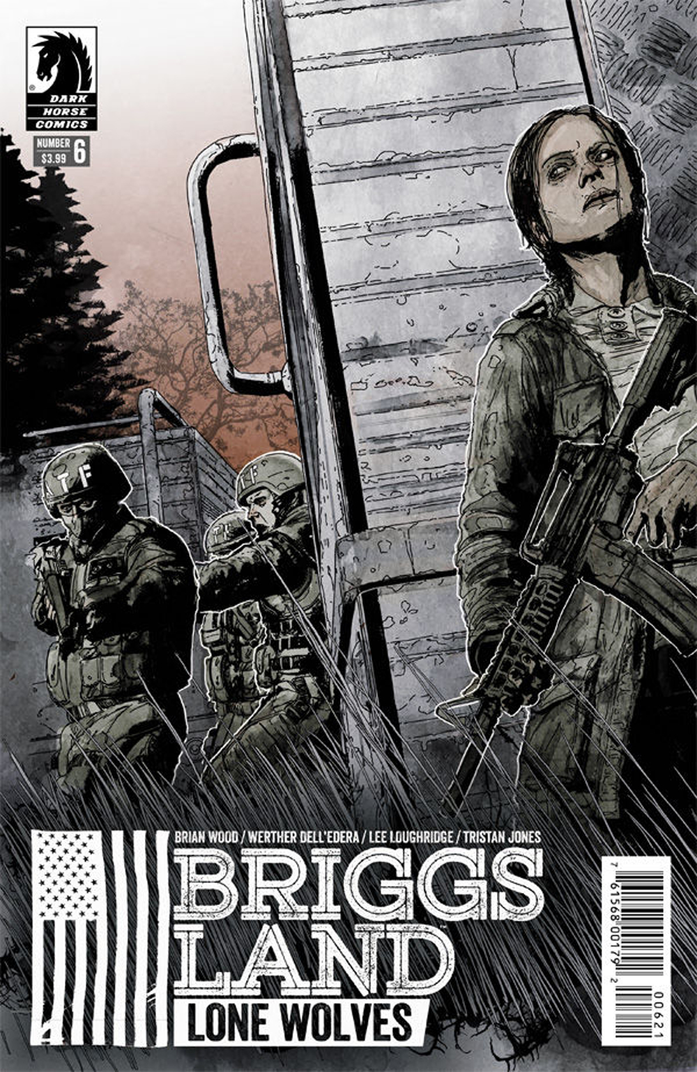 BRIGGS LAND LONE WOLVES #6 (OF 6) VAR