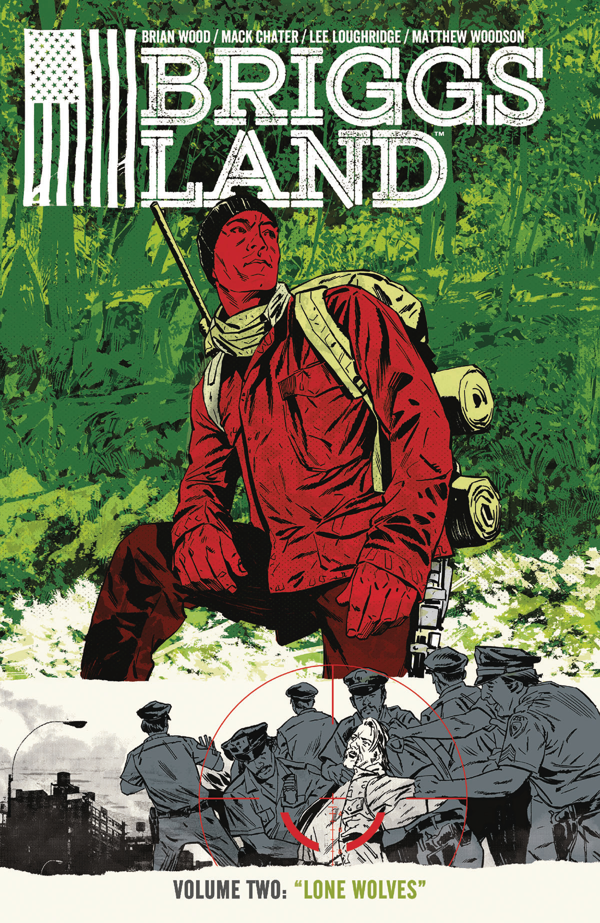 BRIGGS LAND TP VOL 02 LONE WOLVES