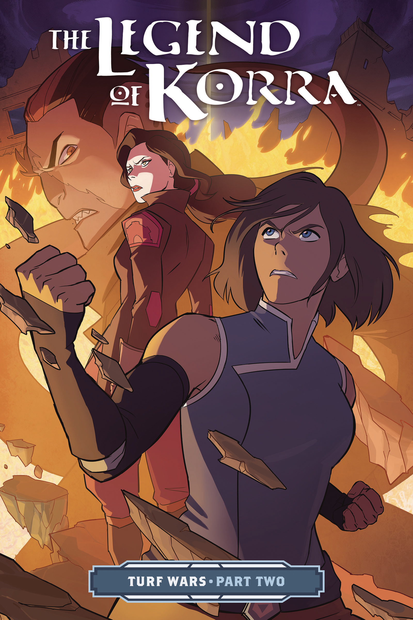 LEGEND OF KORRA TP VOL 02 TURF WARS PT 2