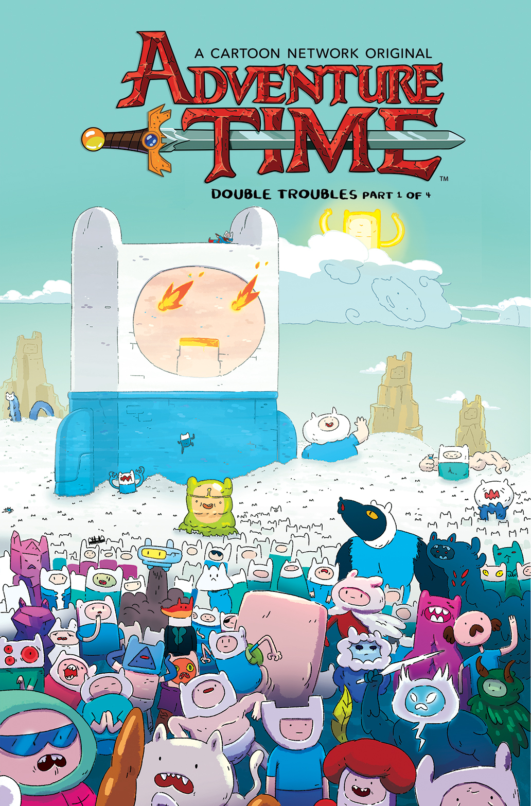 ADVENTURE TIME #70 SUBSCRIPTION MCCORMICK VAR