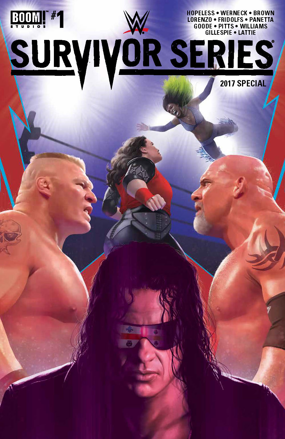 WWE SURVIVORS SERIES 2017 SPECIAL #1