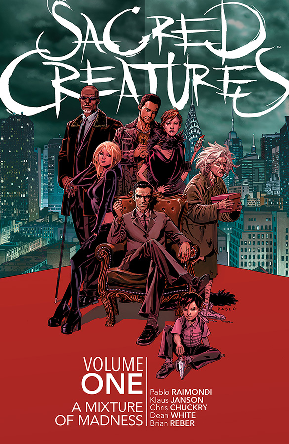 SACRED CREATURES TP VOL 01 (MR)