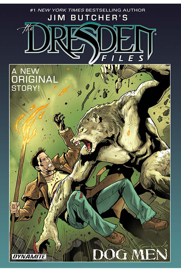 JIM BUTCHER DRESDEN FILES DOG MEN HC