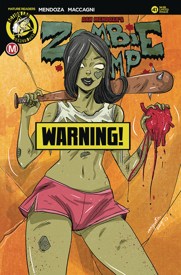 ZOMBIE TRAMP ONGOING #41 CVR D KING RISQUE