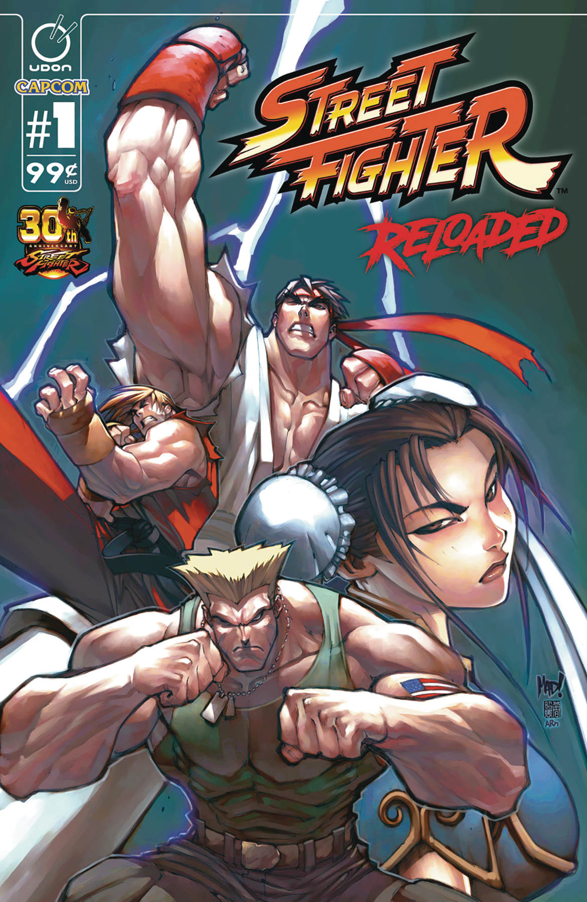 STREET FIGHTER RELOADED #1