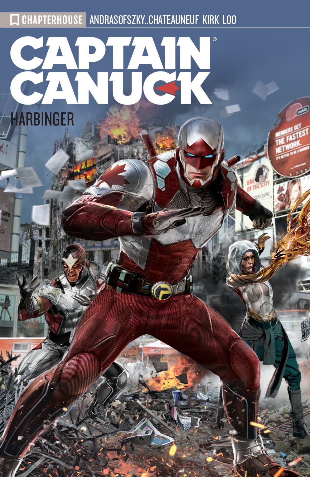 CAPTAIN CANUCK TP VOL 03 HARBINGER (RES)