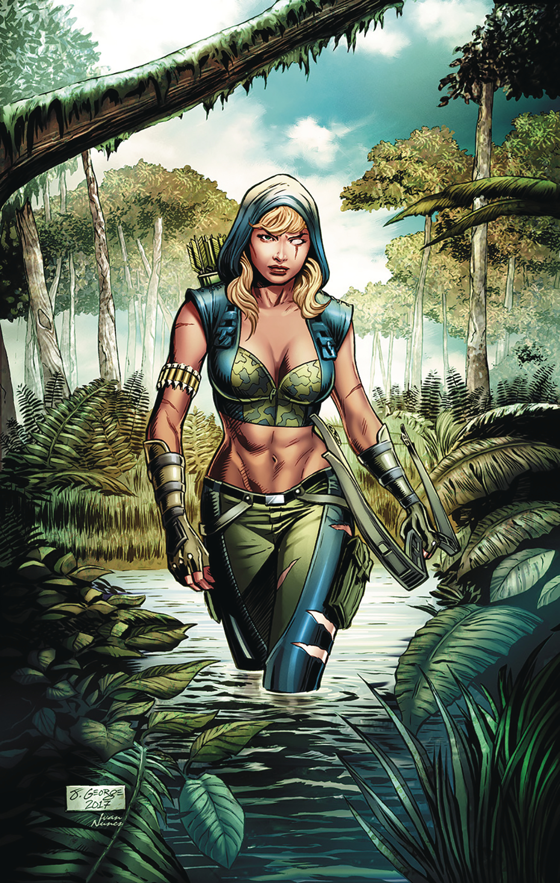 ROBYN HOOD THE HUNT #5 CVR A GEORGE