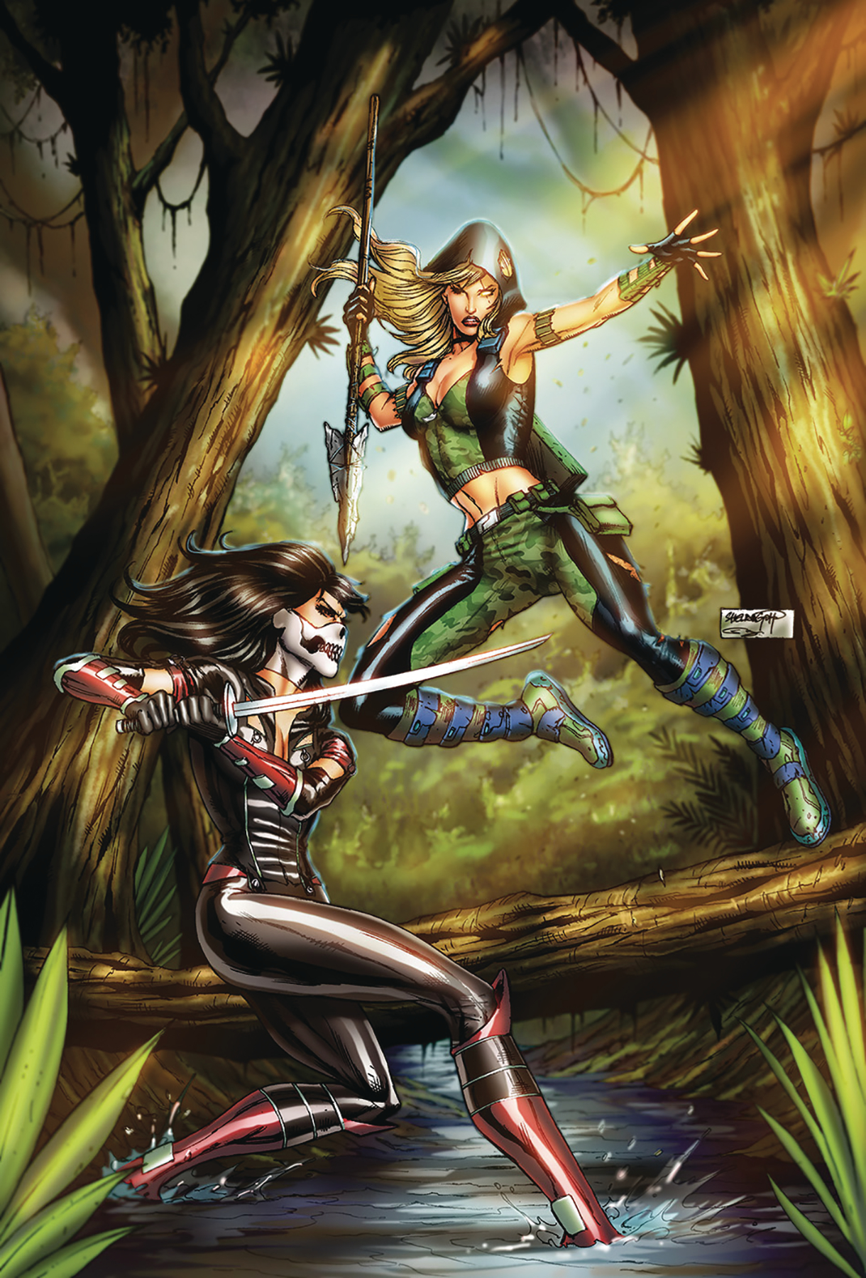 ROBYN HOOD THE HUNT #5 CVR B GOH