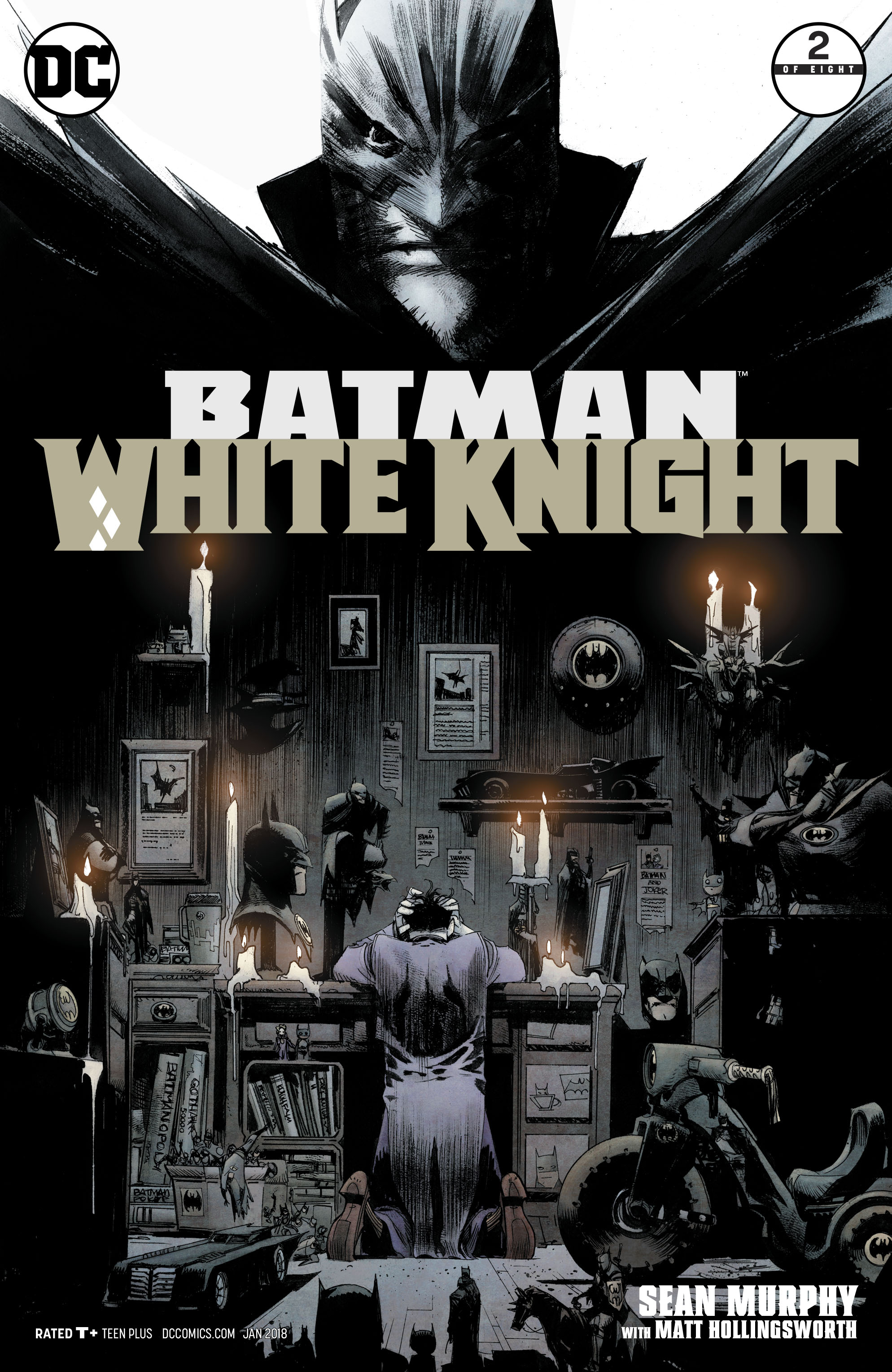 BATMAN WHITE KNIGHT #2 (OF 8)