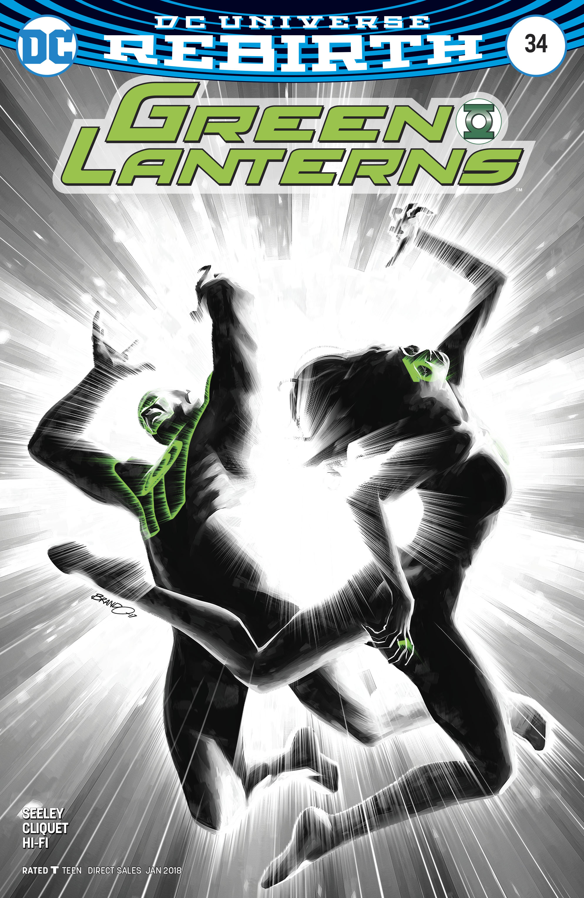 GREEN LANTERNS #34 VAR ED