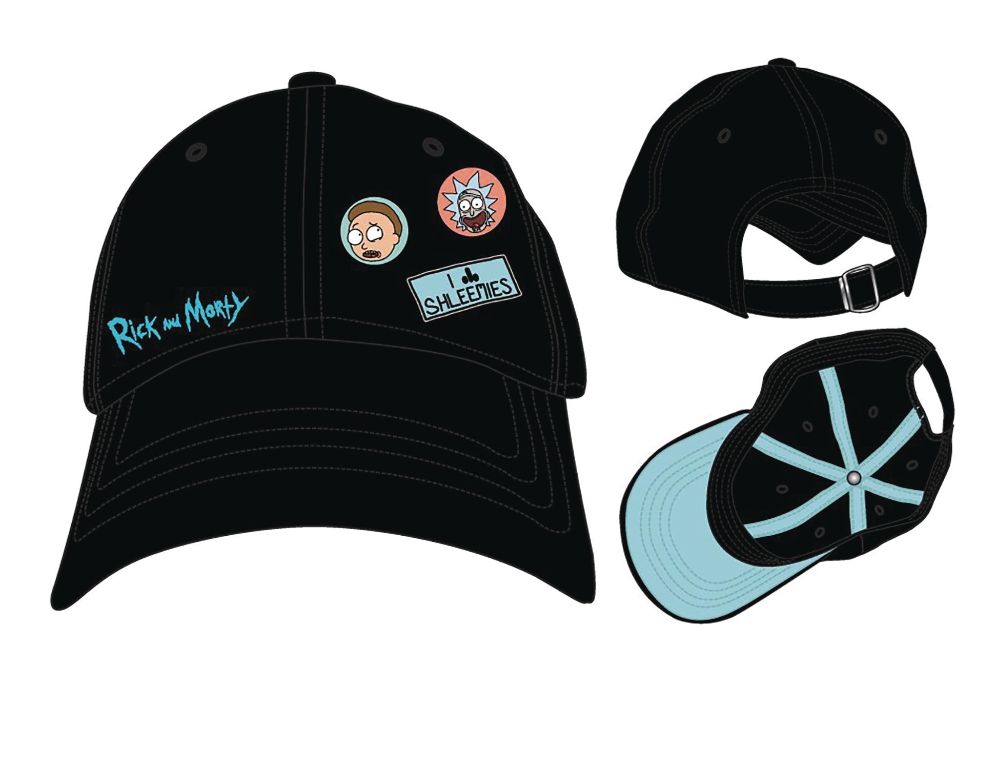 JUN178519 - RICK AND MORTY CAP WITH PINS - Previews World