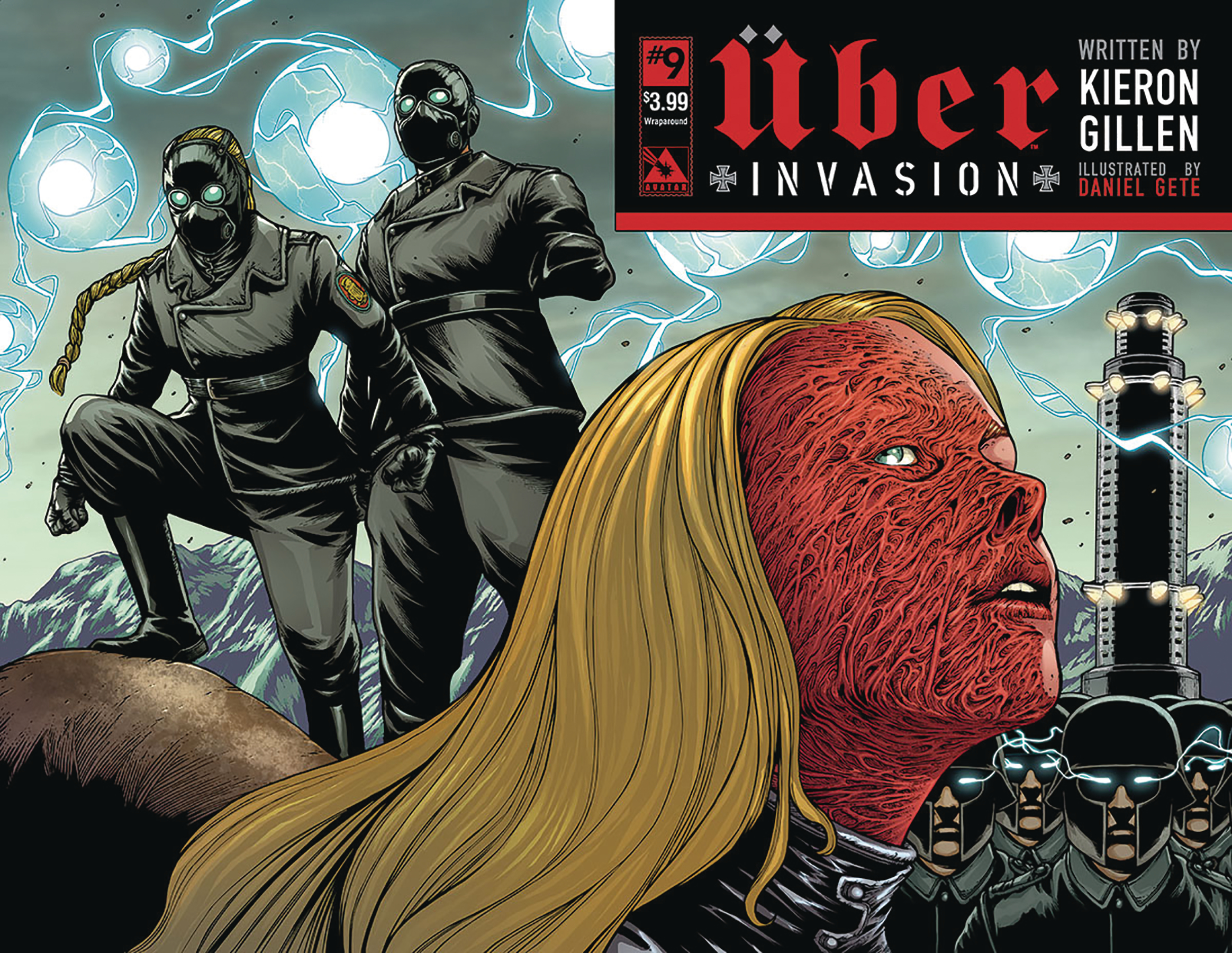 UBER INVASION #9 WRAP CVR (MR)