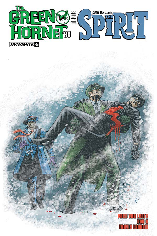 GREEN HORNET 66 MEETS SPIRIT #5