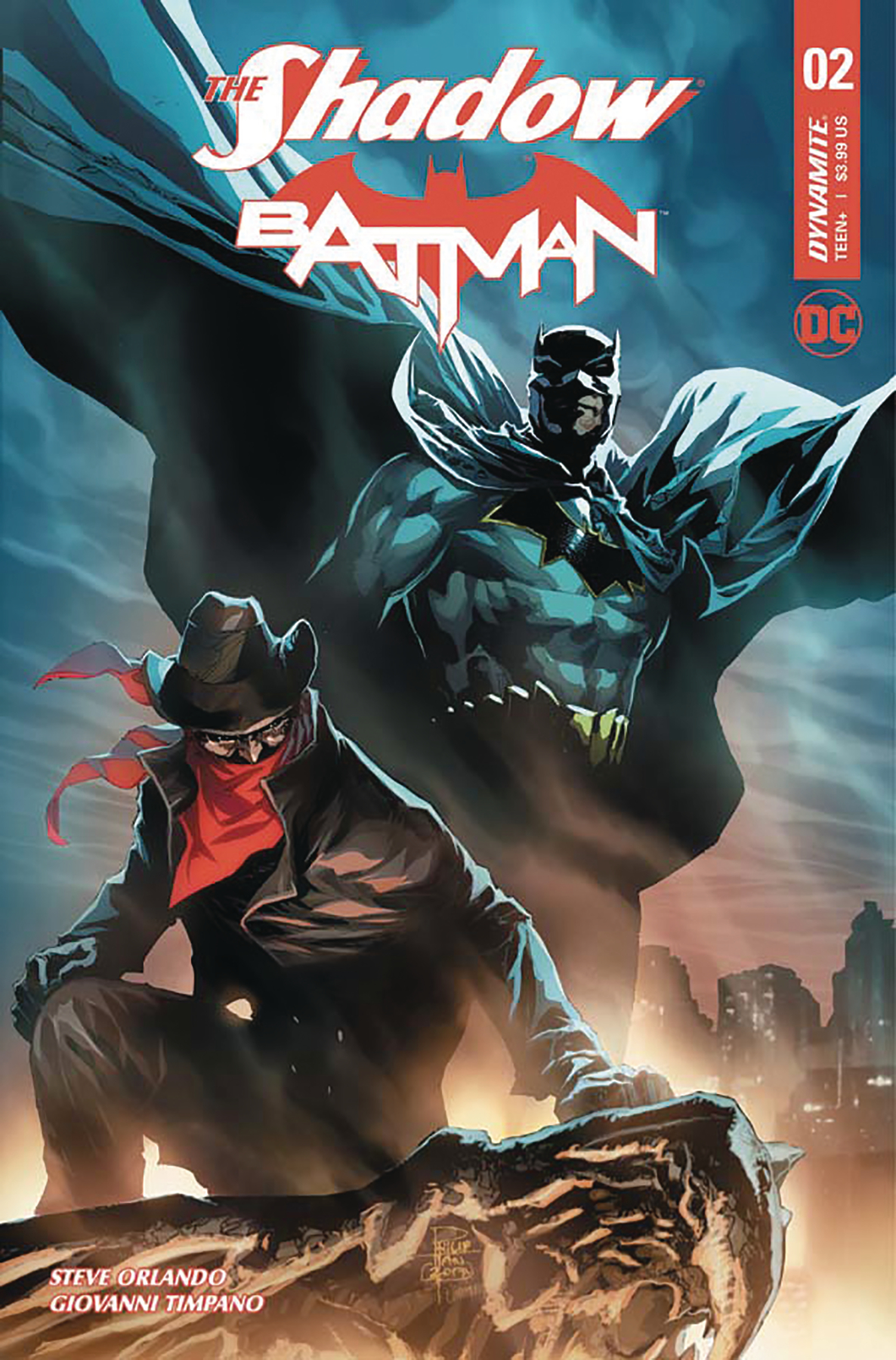 SHADOW BATMAN #2 (OF 6) CVR D TAN