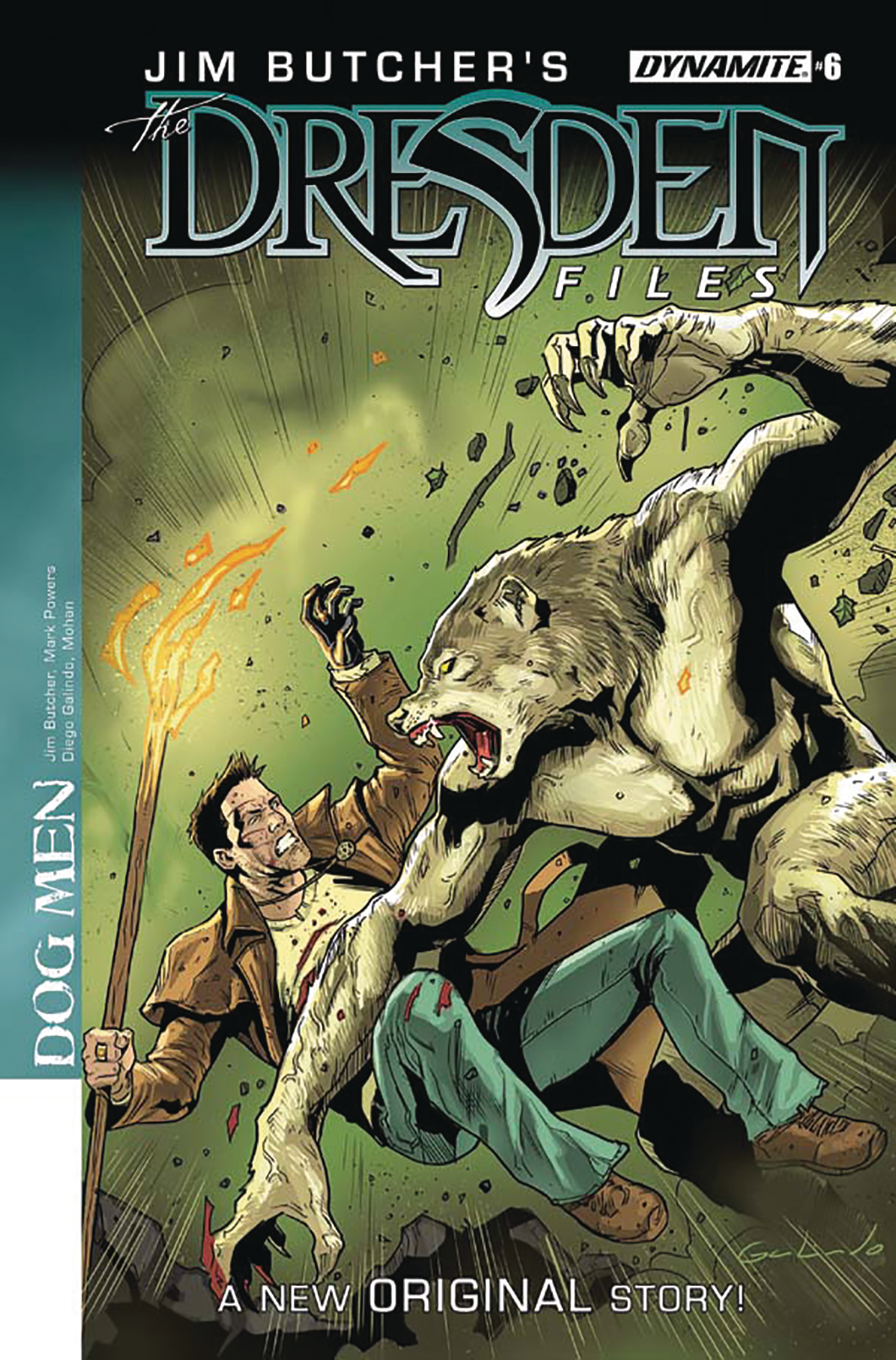 JIM BUTCHER DRESDEN FILES DOG MEN #6 (OF 6) (MR)