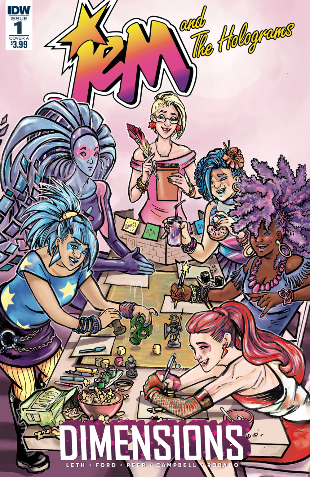 JEM & THE HOLOGRAMS DIMENSIONS #1 CVR A FORD