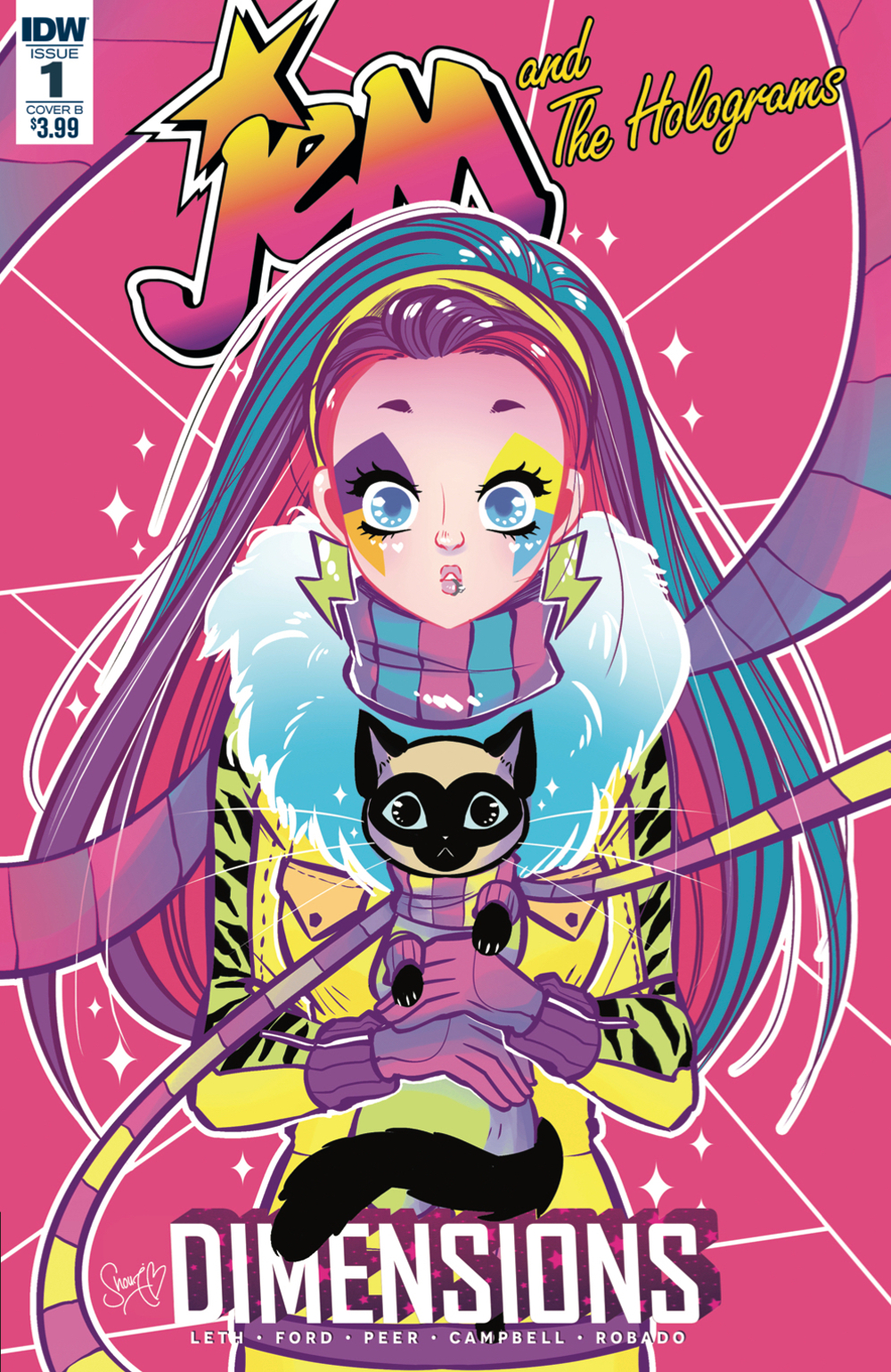 JEM & THE HOLOGRAMS DIMENSIONS #1 CVR B ROBADO