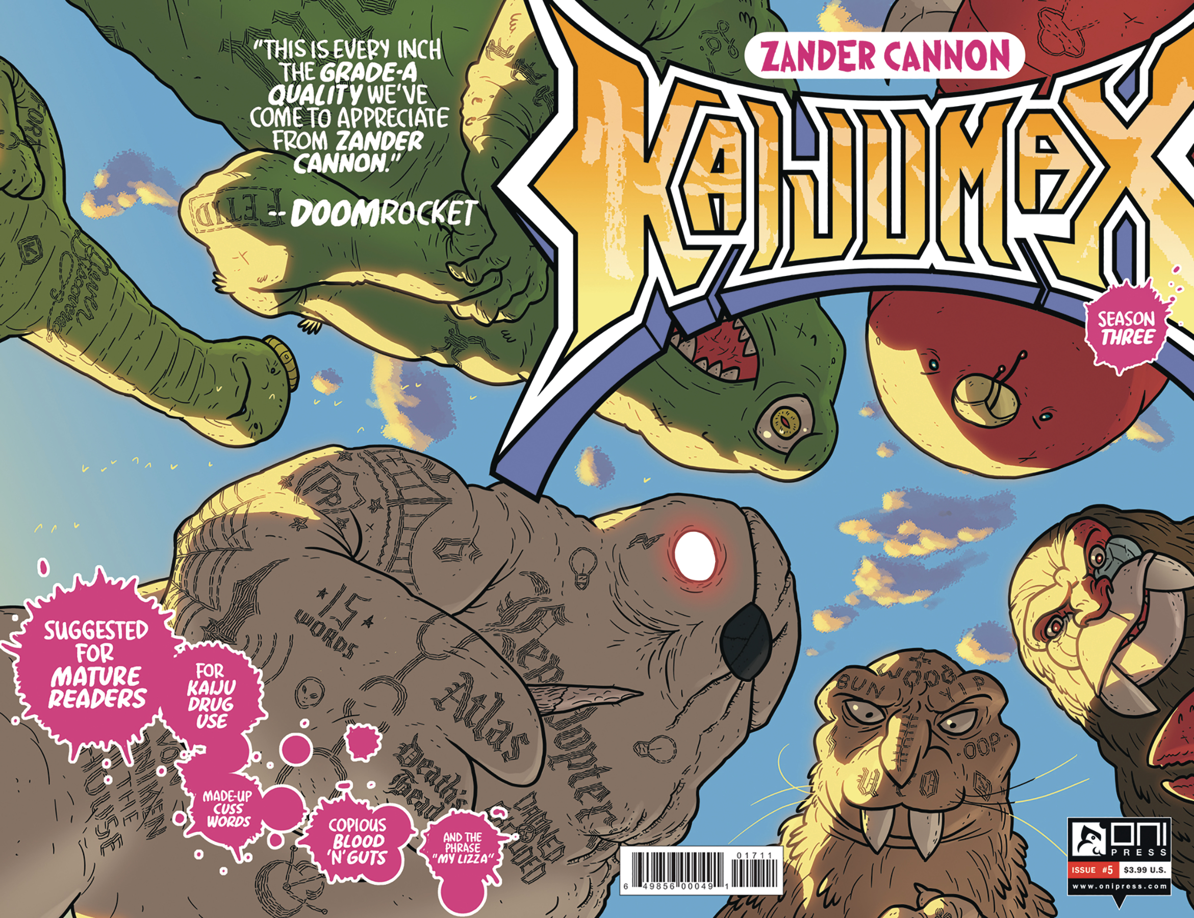 KAIJUMAX SEASON 3 #5 (MR)