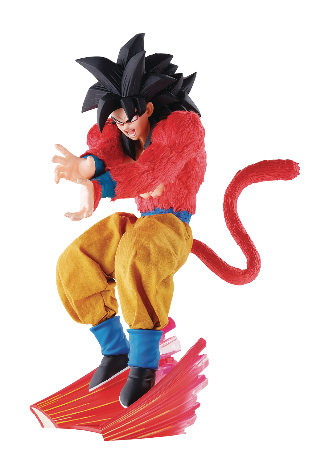 DIMENSION OF DRAGONBALL DBZ SUPER SAIYAN 4 GOKU PVC FIG