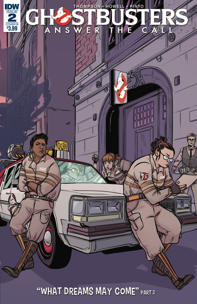 GHOSTBUSTERS ANSWER THE CALL #2 CVR B VIECELI