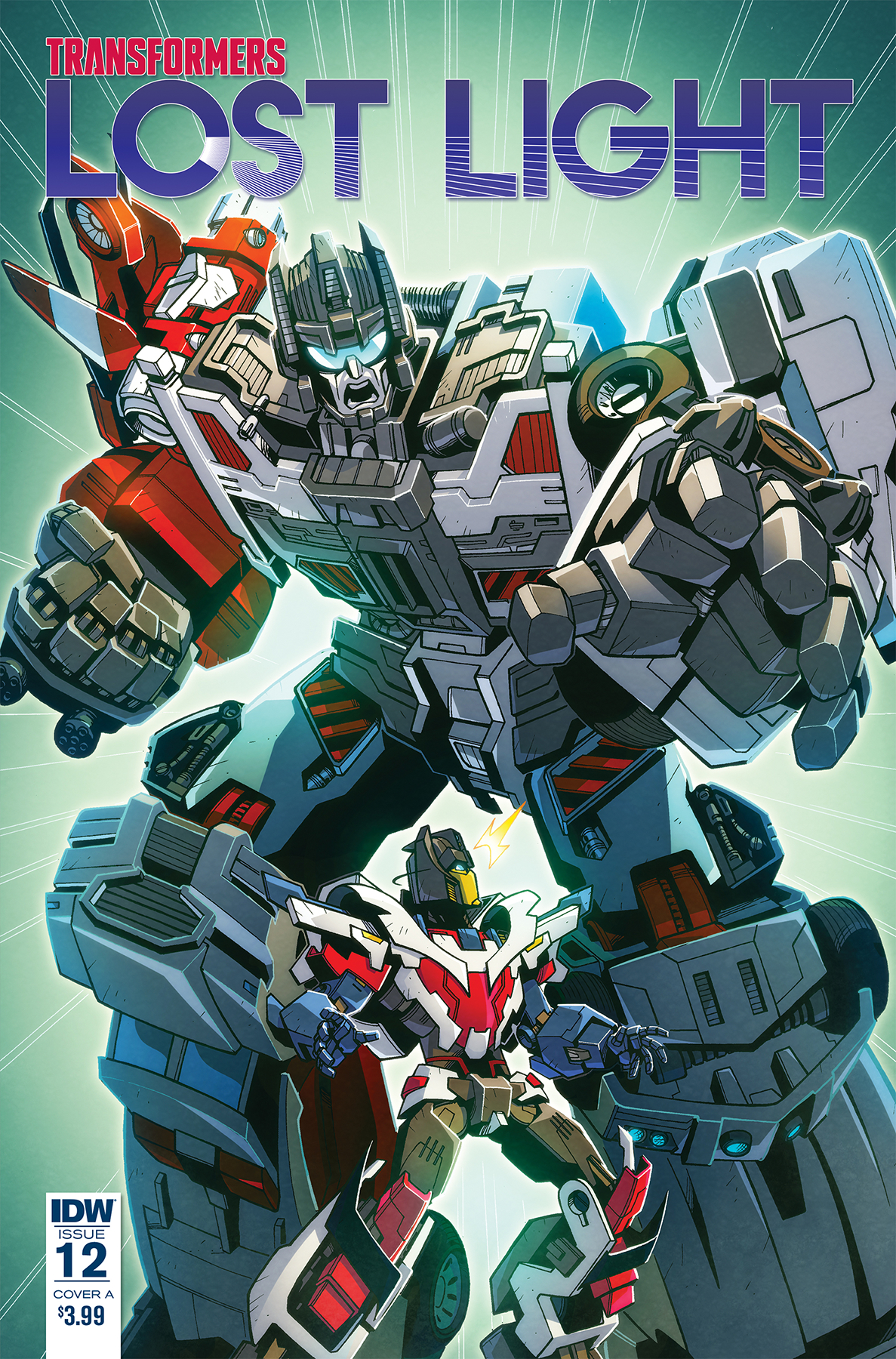 TRANSFORMERS LOST LIGHT #12 CVR C MILNE