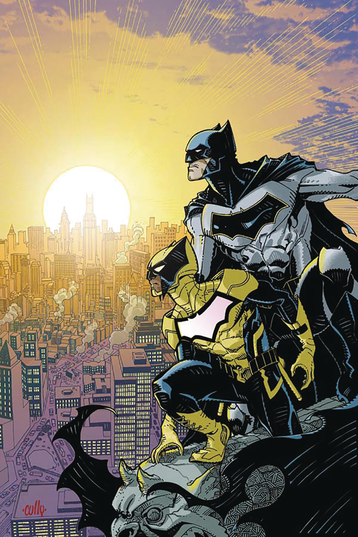 DF BATMAN AND THE SIGNAL #1 SNYDER SGN