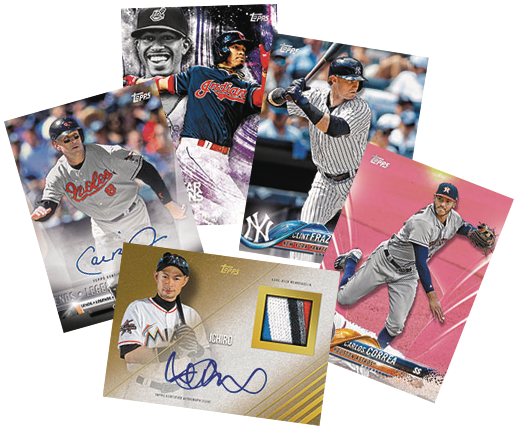 TOPPS 2018 BASEBALL SERIES 1 T/C BOX