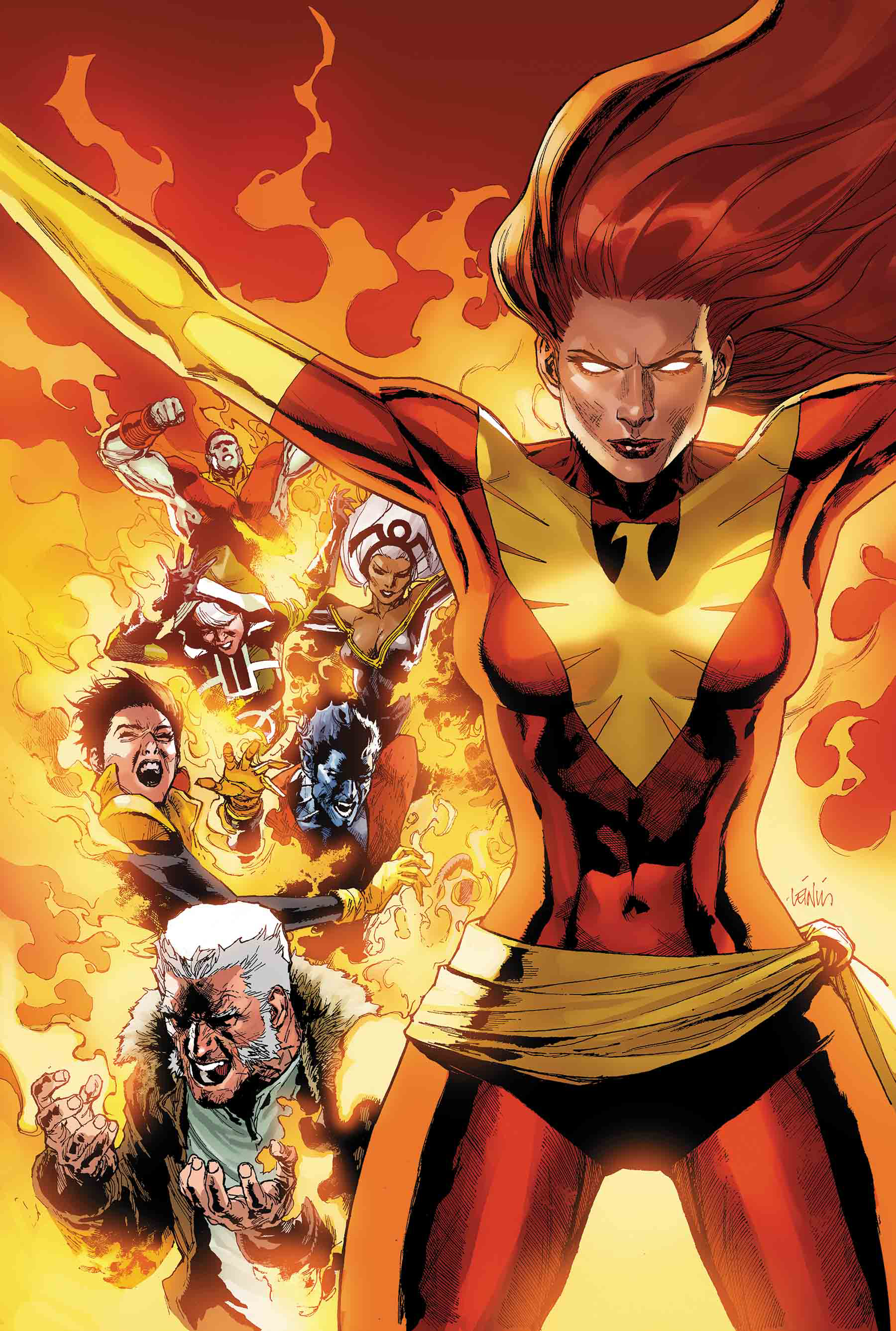 PHOENIX RESURRECTION BY YU POSTER