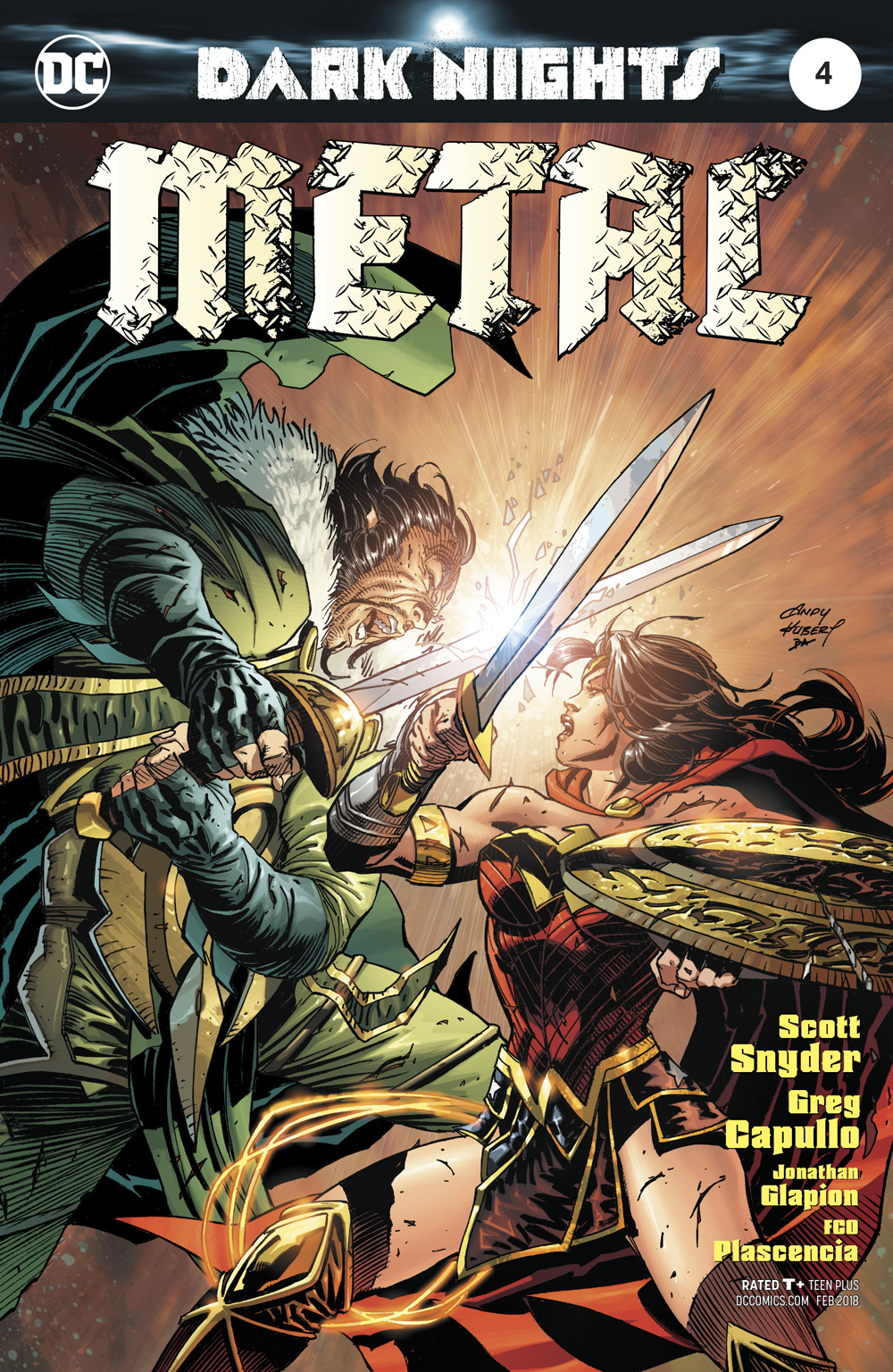 DARK NIGHTS METAL #4 (OF 6) KUBERT VAR ED