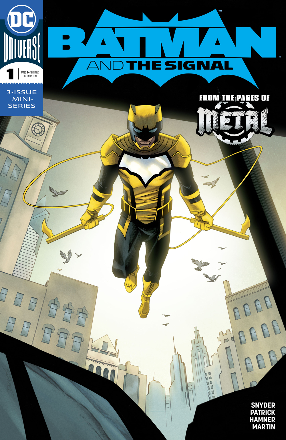 BATMAN AND THE SIGNAL #1 (OF 3) VAR ED (RES)