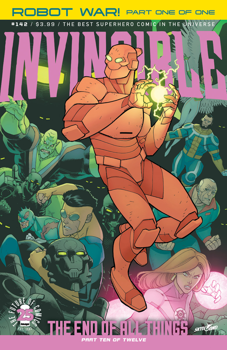 INVINCIBLE #142 (MR)