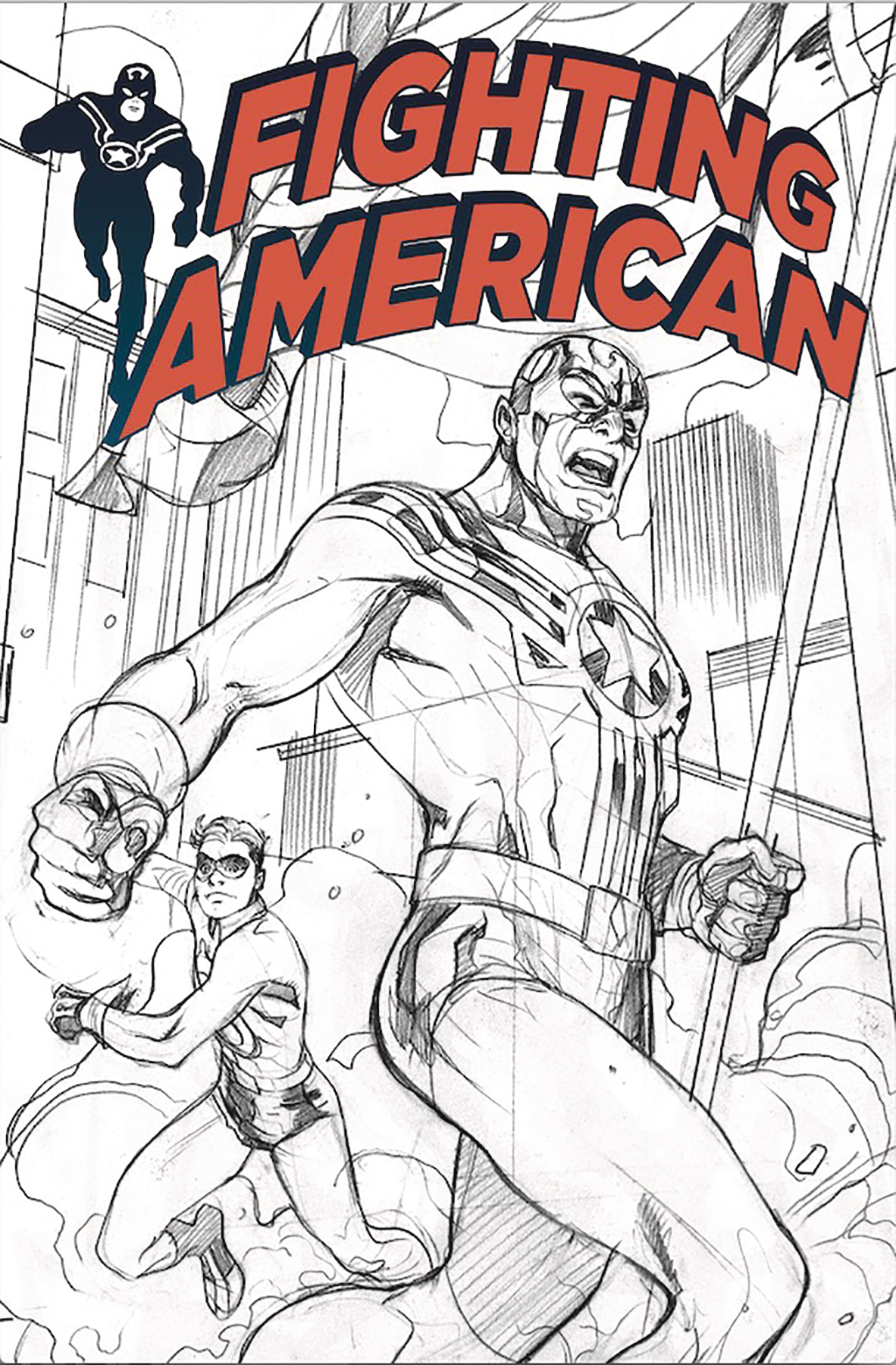 FIGHTING AMERICAN #0 SDCC EXC