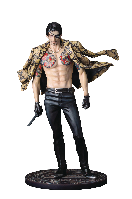 Jun178907 Yakuza Goro Majima Pvc Fig Previews World