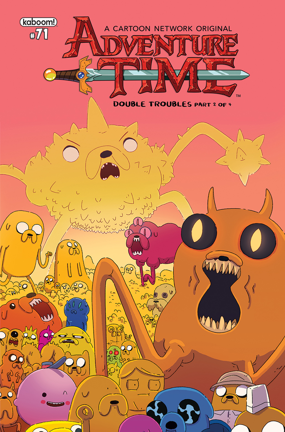 ADVENTURE TIME #71 SUBSCRIPTION MCCORMICK VAR