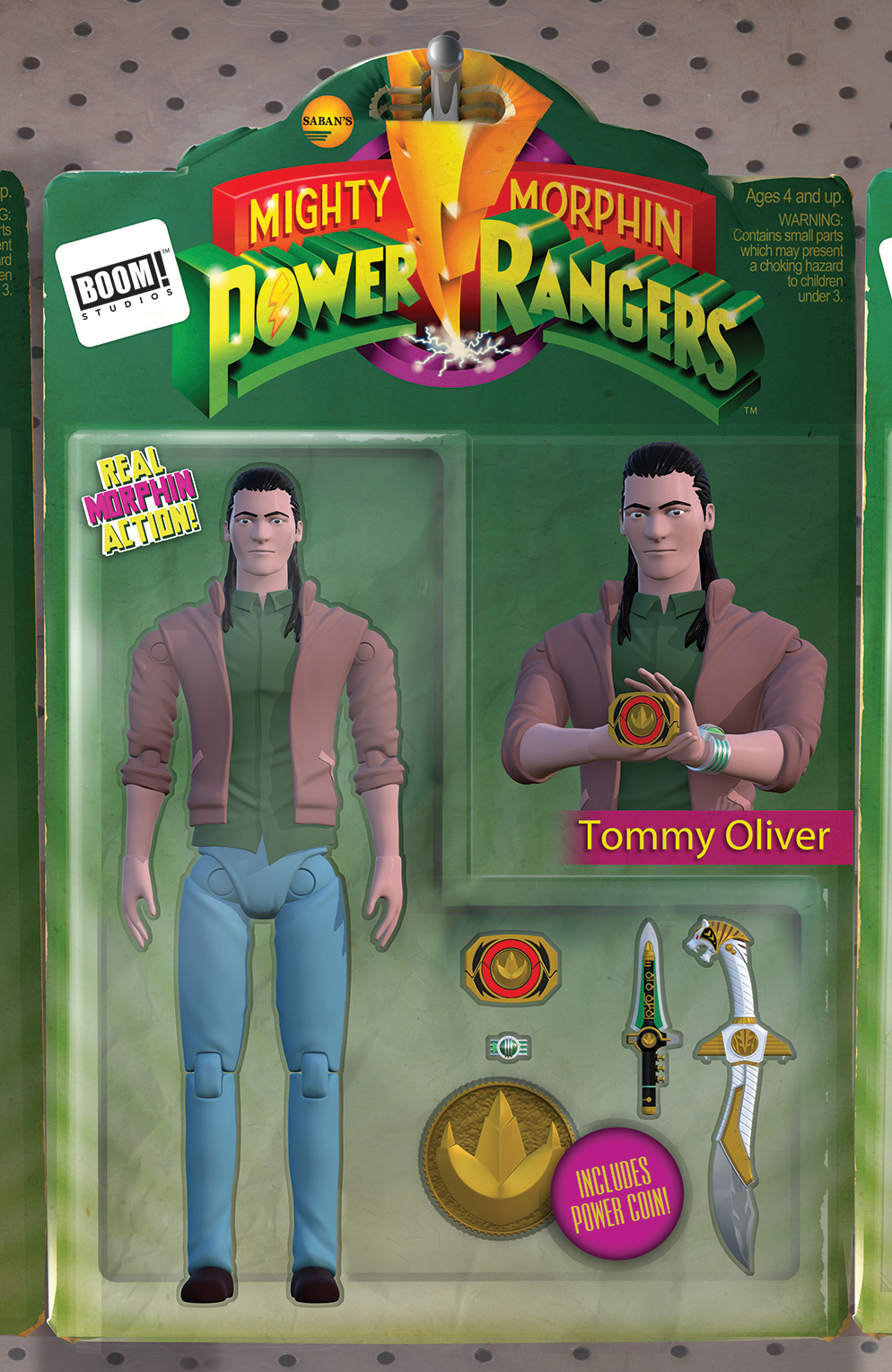MIGHTY MORPHIN POWER RANGERS #22 UNLOCKABLE ACTION FIGURE VA