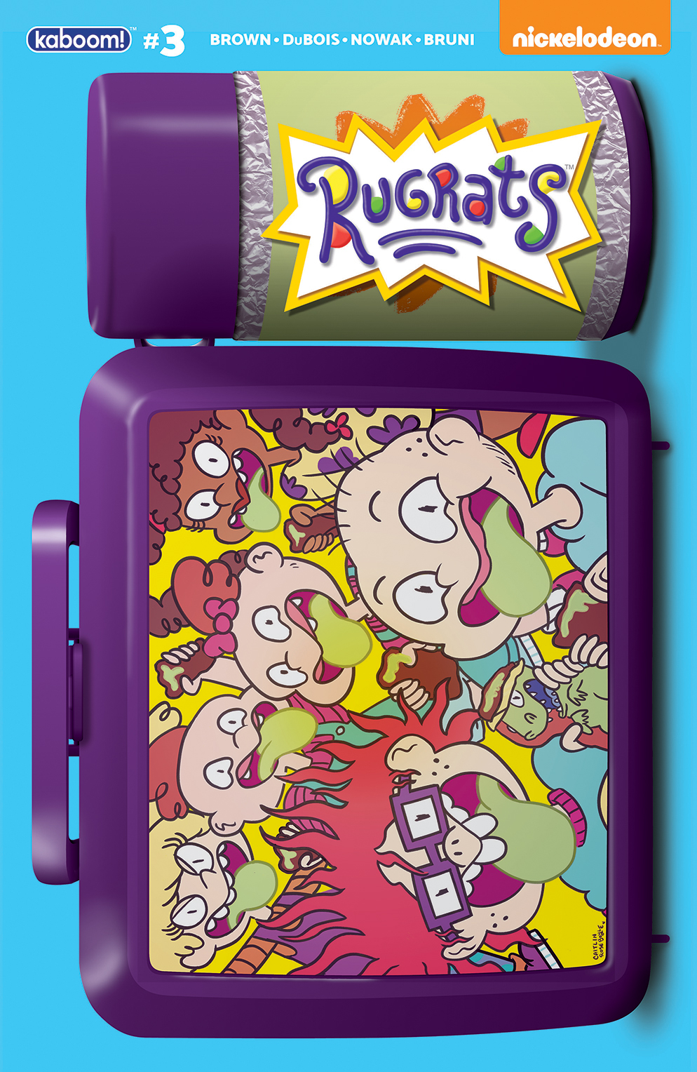 RUGRATS #3 SUBSCRIPTION BOYLE VAR