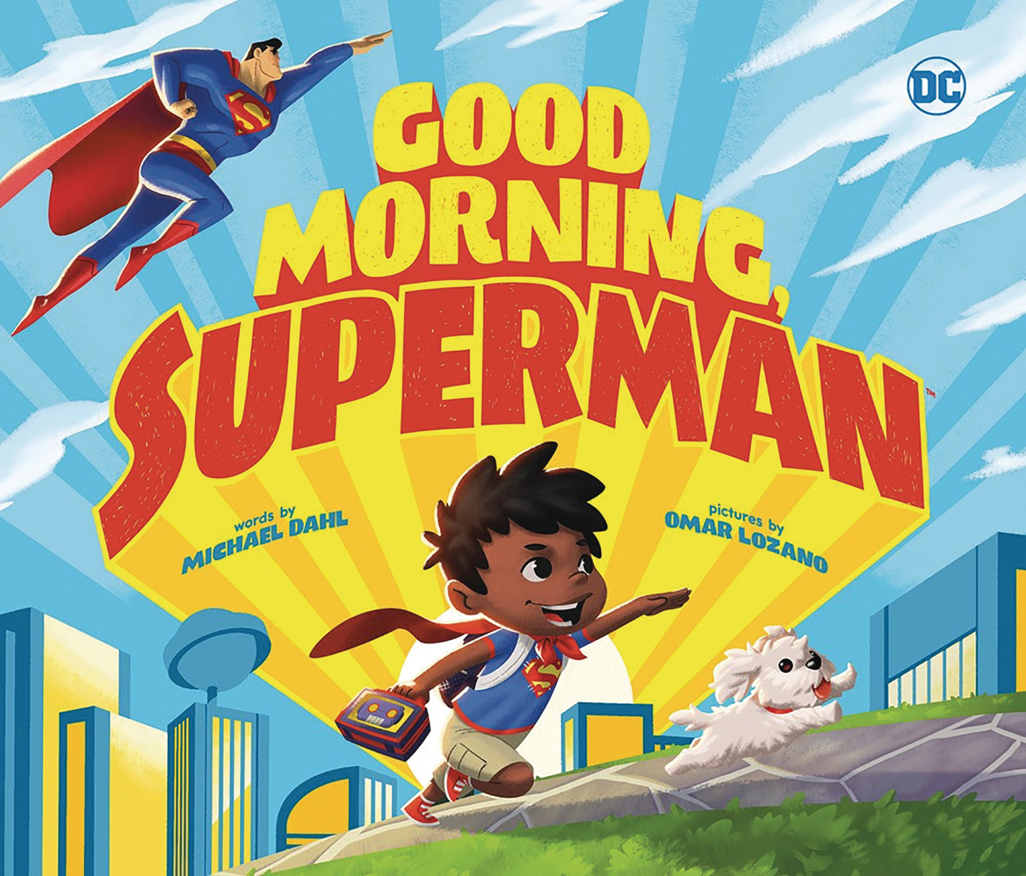 GOOD MORNING SUPERMAN BOARD BOOK